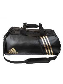 Спортивная сумка Adidas Super Sport Bag Budo M черно-золотая