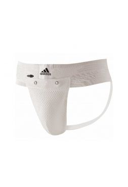 Защита паха Adidas Training Groin Guard белая