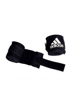 Боксерские бинты Adidas Boxing Crepe Bandage черные