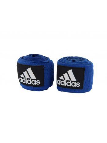 Боксерские бинты Adidas Boxing Crepe Bandage синие