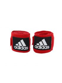 Боксерские бинты Adidas Boxing Crepe Bandage красные