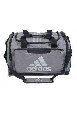 Спортивная сумка Adidas Nylon Team Bag Karate M серая
