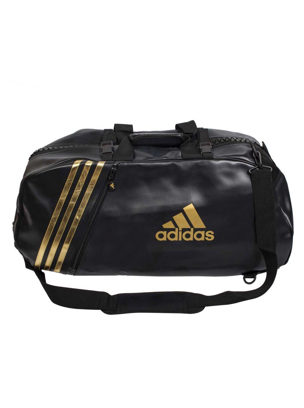 3d7942dfba1b Купить спортивную сумку «Adidas Super Sport Bag Karate L» черно-золотую