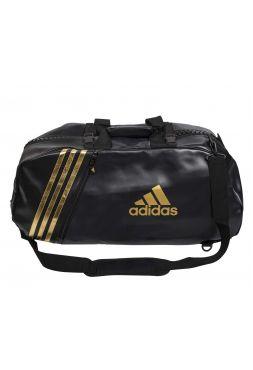 Спортивная сумка Adidas Super Sport Bag Karate L черно-золотая