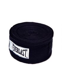 Бинты боксерские Everlast 4.55 м черные