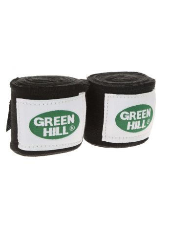 Боксерские бинты Green Hill BANDAGES POLYESTER черные