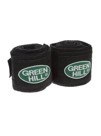 Боксерские бинты Green Hill BANDAGES COTTON черные