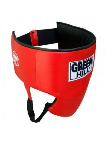 Защита паха Green Hill GROIN GUARD PROFESSIONAL красная
