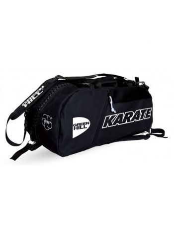 Спортивная сумка Green Hill SPORTS BAG KARATE черная
