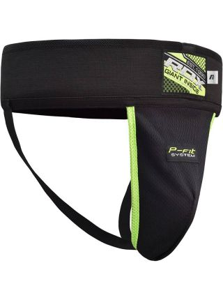 Защита паха RDX Elasticated Groin Protector черная