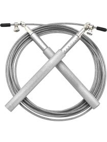 Скакалка RDX Adjustable Skipping серебряная