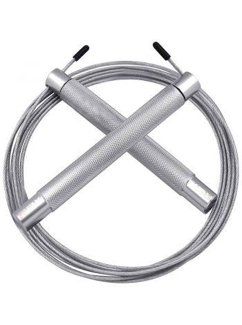 Скакалка RDX Jumping Adjustable серебряная