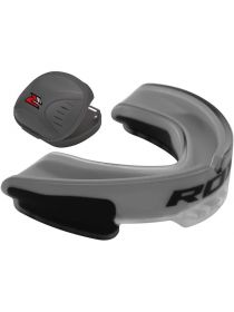 Капа RDX Gel Gum Shield Mouthguard серая