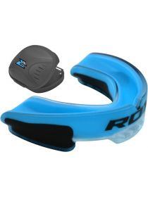 Капа RDX Gel Mouthguard Gum Shield синяя