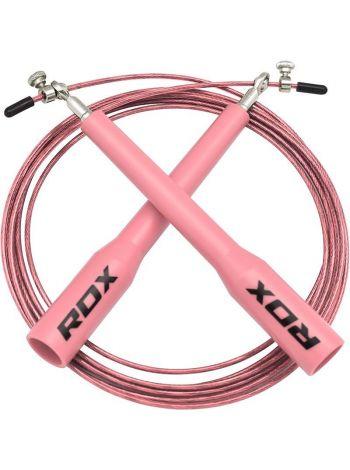 Скакалка RDX Skipping Jumping Adjustable розовая