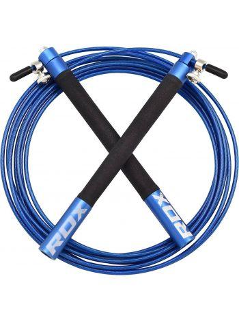Скакалка RDX Adjustable Jumping синяя