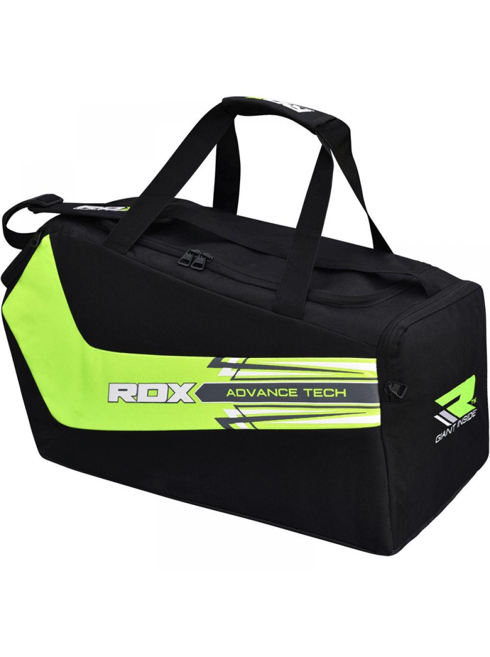 c16f7967245e Купить спортивную сумку «RDX Training Gym Sack» черно-зеленую