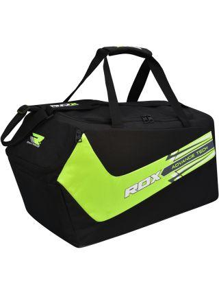 Спортивная сумка RDX Training Gym Sack черно-зеленая