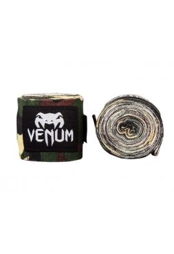 Бинты боксерские VENUM 2,5M-4M камуфляжные