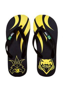 Сланцы Venum Flip-Flops SHOGUN желто-черные
