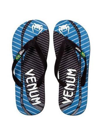 Сланцы Venum Flip-Flops Board Sandals черно-синие