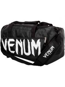 Спортивная сумка VENUM SPARRING черно-белая