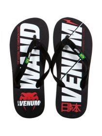 Сланцы Venum Flip-Flops Wand Black