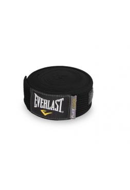 Бинты боксерские Everlast Breathable 4.55 м черные