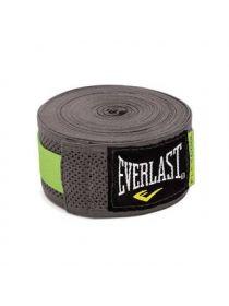 Бинты для бокса Everlast Breathable 4.55 м серые