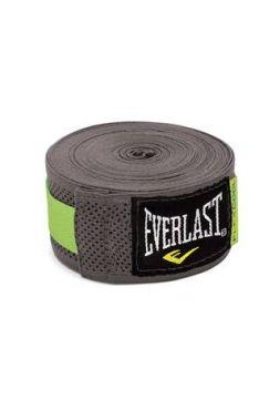 Бинты боксерские Everlast Breathable 4.55 м серые