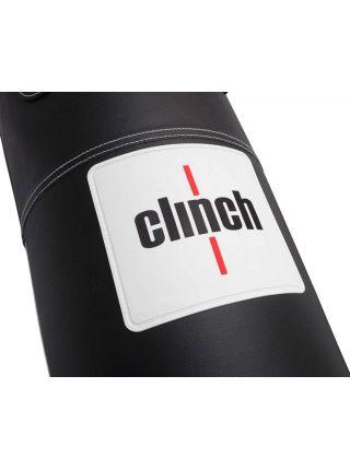 Боксерский мешок Clinch Profi & Durable 150x40 см черный