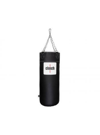 Боксерский мешок Clinch Profi & Durable 100x40 см черный