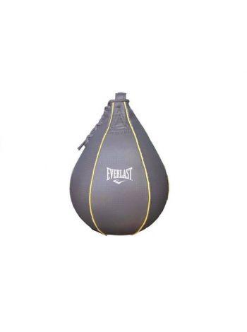 Груша боксерская Everlast EVERHIDE 23x15 серая