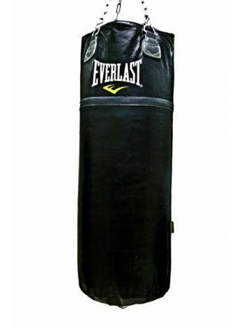 Мешок боксерский EVERLAST SUPER LEATHER 100LB 45КГ черный