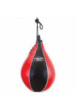 Боксерская груша Green Hill SPEED BALL BEST красно-черная