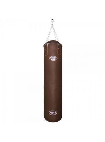 Боксерский мешок Green Hill ARTIFICIAL LEATHER BROWN FILLED