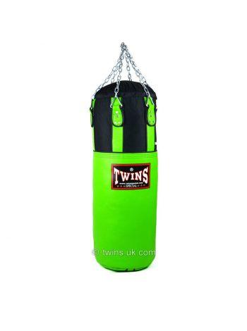 Боксерская груша TWINS HBNL-3 зеленая подвесная