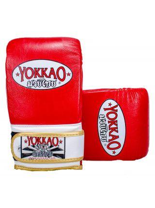 Снарядные перчатки Yokkao красные