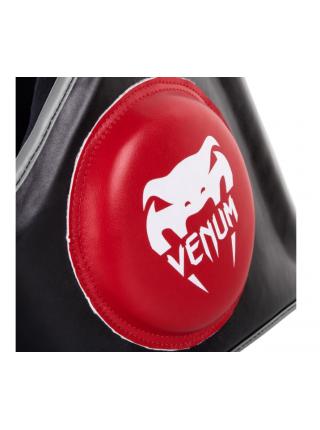 Пояс защитный VENUM ELITE черно-красный