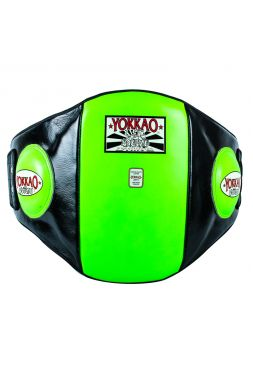 Пояс тренера YOKKAO Belly Pad черно-зеленый