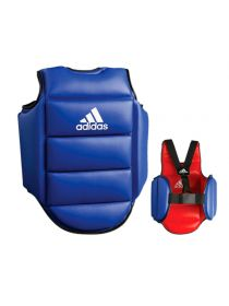 Защита корпуса Adidas Reversible Chest Guard сине-красная