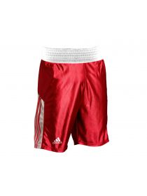 Боксерские шорты Adidas Amateur красные