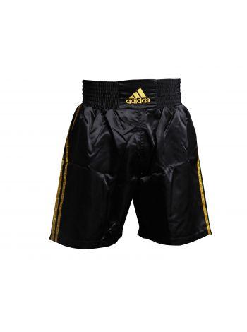Боксерские шорты Adidas Multi черно-золотые