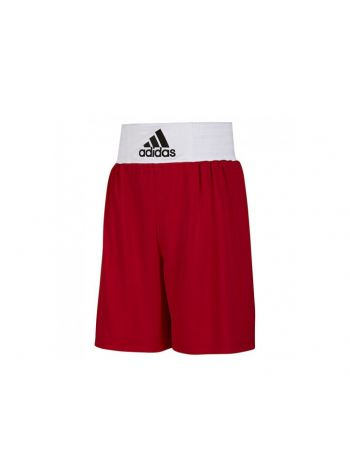 Шорты для бокса Adidas Base Punch красные