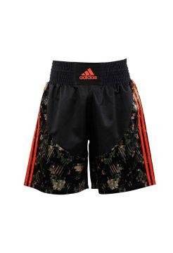 Боксерские шорты Adidas Micro Diamond Multi черно-камуфляжные