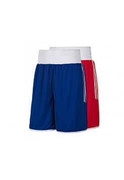 Шорты для бокса Adidas Reversible Punch красно-синие