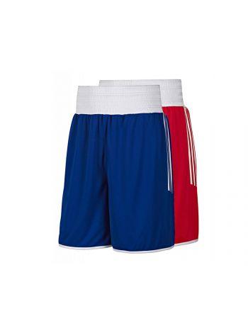 Шорты для бокса Adidas Reversible Punch красно-синие