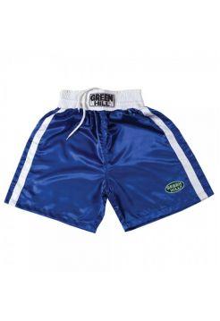 Шорты для бокса GREEN HILL BOXING SHORTS ELITE синие