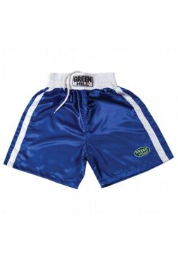 Шорты для бокса GREEN HILL BOXING SHORTS ELITE синие