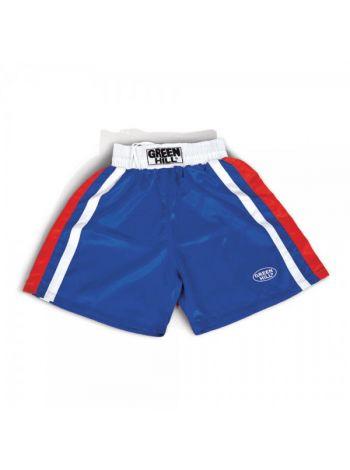 Боксерские шорты GREEN HILL BOXING SHORTS OLYMPIC синие